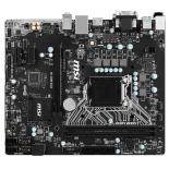 материнская плата MSI H110M ECO Soc-1151 H110 DDR4 mATX SATA3  LAN-Gbt USB3.0 DVi/VGA/HDMI
