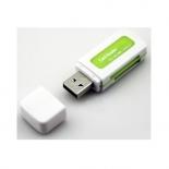 устройство для чтения карт памяти Orient CR-011G бело-зеленое