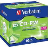 Оптический диск Verbatim CD-RW (43148) 700МБ