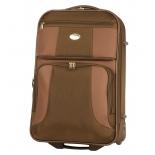 чемодан Santa Fe Де Люкс (30л) L04512/21, коричневый