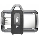 usb-флешка SanDisk Ultra Dual Drive m3.0 16GB, Серая