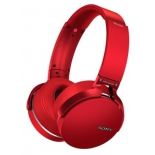 гарнитура для телефона Sony MDRXB950B1/R, красная