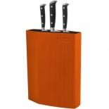 подставка для ножей Rondell Orange RD-470, оранжевая