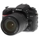 цифровой фотоаппарат Nikon D7200 KIT (AF-S DX 18-105mm VR), черный