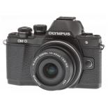 цифровой фотоаппарат Olympus OM-D E-M10 Mark II Kit (14-42 mm II R ), черный