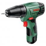 Дрель Bosch PSR 1080 LI 1.5Ah x2 Case, [0.603.9a2.021]