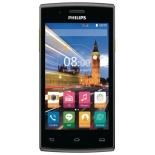 смартфон Philips Xenium S307 4Gb, черный/желтый
