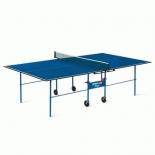 стол теннисный Start Line Olympic без сетки, синий