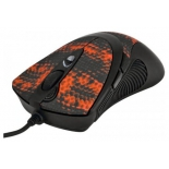 мышка A4Tech F7 Snake Black-Red USB