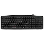 клавиатура Oklick 100 M PS/2 Черный