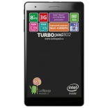 планшет TurboPad 802i,  8GB, Wi-Fi, 3G,  Android 5.1 черный [рт00020442]