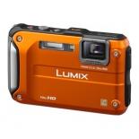 цифровой фотоаппарат Panasonic Lumix DMC-FT30 оранжевый