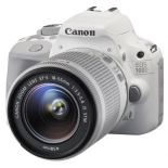 цифровой фотоаппарат Canon EOS 100D Kit (EF-S 18-55mm IS STM), белый