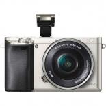 цифровой фотоаппарат Sony Alpha A6000 Kit (SEL-1650), серебристый