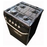 плита DeLuxe 5040.38 гщ, черный