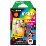 картридж для фотоаппарата моментальной печати Fujifilm Instax Mini Rainbow WW1 10/PK (10 листов)
