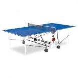 стол теннисный Start Line Compact Light LX, с сеткой, синий