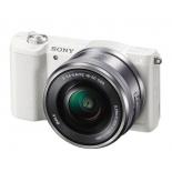 цифровой фотоаппарат Sony Alpha A5100 Kit (SEL-1650), белый