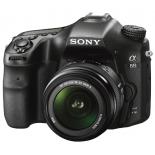 цифровой фотоаппарат Sony Alpha SLT-A68 Kit 18-55, черный