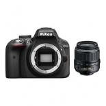 цифровой фотоаппарат Nikon D3300 KIT (AF-P DX 18-55mm VR), черный
