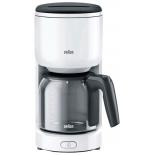 кофеварка Braun KF3120WH белая