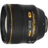объектив для фото Nikon 85 mm f/1.4G AF-S Nikkor