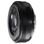объектив для фото Fujifilm XF 27mm f/2.8, черный
