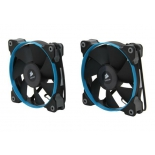 кулер Corsair CO-9050002-WW Quiet Edition Twin Pack, для корпуса, 2 шт, 120 мм