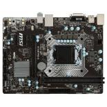 материнская плата MSI H110M PRO-D (mATX, LGA1151, Intel H110, 2x DDR4)