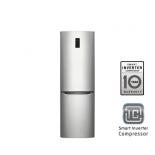 холодильник LG GA-B379SMQL Серебристый