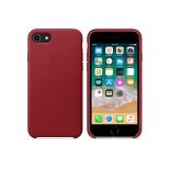 чехол iphone Apple для iPhone 8 / 7 Leather Case MQHA2ZM/A, красный