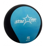 мяч Starfit Pro GB-702, 5 кг, синий 1/4, Медбол