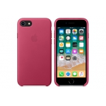 чехол iphone Apple для iPhone 8/7 Leather Case MQHG2ZM/A, розовая фуксия