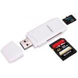 устройство для чтения карт памяти Orient CR-017W (картридер), Белый