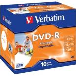 оптический диск Verbatim DVD-R 43521 (10 шт)