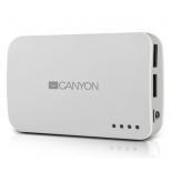 аксессуар для телефона Мобильный аккумулятор Canyon CNE-CPB78W, белый