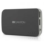 аксессуар для телефона Мобильный аккумулятор Canyon CNE-CPB78DG, тёмно-серый