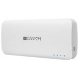 аксессуар для телефона Мобильный аккумулятор Canyon CNE-CPB100W, белый