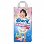 подгузник MOONY для девочек 9-14 кг (44 шт.) L, трусики