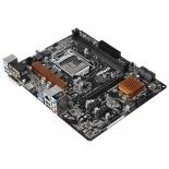 материнская плата ASRock B150M-HDV Soc-1151 B150 DDR4 mATX SATA3  LAN-Gbt USB3.0 VGA/DVi/HDMI