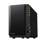 сетевой накопитель Synology DS216 2BAY USB3, черный