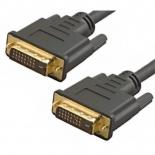 кабель (шнур) TV-COM DVI-DVI Dual Link (25M-25M), 3 м позолоченные контакты
