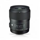объектив для фото Sigma AF 35 mm F/1.4 DG HSM для Nikon