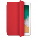 чехол ipad Apple iPad (new) Smart Cover (MR632ZM/A), красный