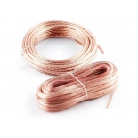 аксессуар для автомобильной акустики Kicx SCC-1612 (акустический кабель), 16AWG, 12м, прозрачный