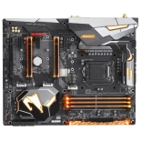 материнская плата Gigabyte Z370 Aorus Gaming 5 (Soc-1151 Z370 DDR4 ATX SATA3 LAN-Gbt USB3.1 Wi-Fi DP/HDMI)
