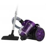 Пылесос Home Element HE-VC1802, черно-фиолетовый
