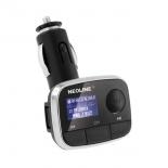 FM-модулятор Neoline Bliss FM черный MicroSD