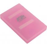 корпус для жесткого диска AgeStar SUBCP1, розовый