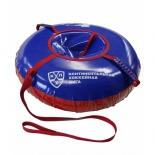 тюбинг КХЛ 100 см тент-тент (с камерой), сине-красный